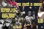 flyer for homemade burlesque show